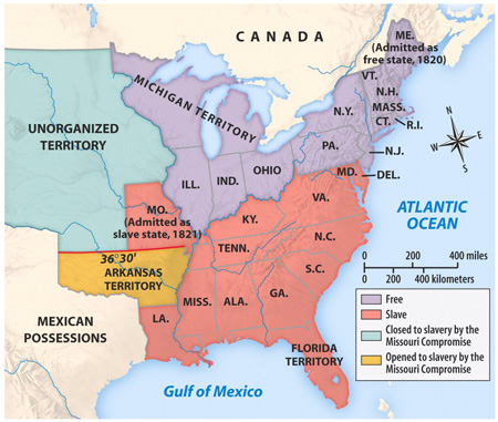 The Missouri Compromise of 1820 - Essential Civil War Curriculum